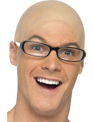 Nude Skin Head Bald Cap Special FX Costume Accessory