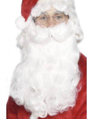 White Santa Beard Christmas Costume Accessory