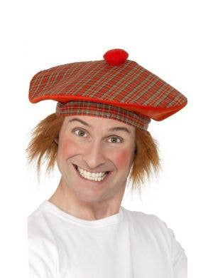Tam-O-Shanter Deluxe Hat with Hair