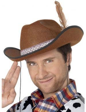 Dallas Brown Men's Cowboy Costume Accessory Hat