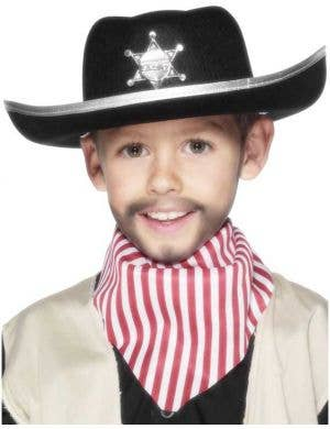 Wild West Sheriff Kids Costume Hat