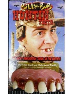 Billy Bob Fake Custom Fitting Hillbilly Bogan Huntin Teeth