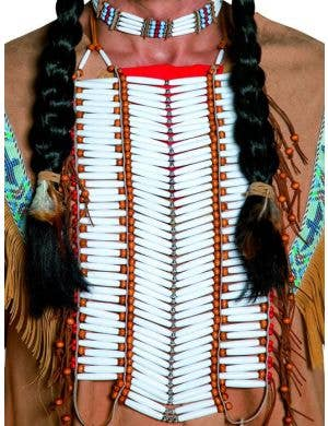 American Indian Beaded Breast Plate