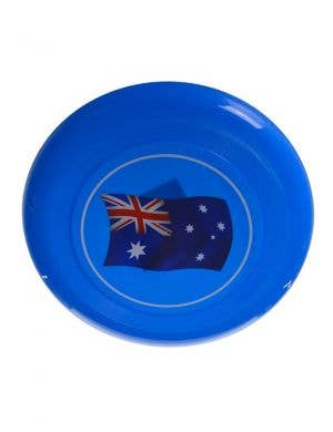 Australian Flag Blue Novelty Frisbee
