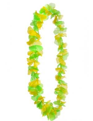 Green and Yellow Australia Day Lei
