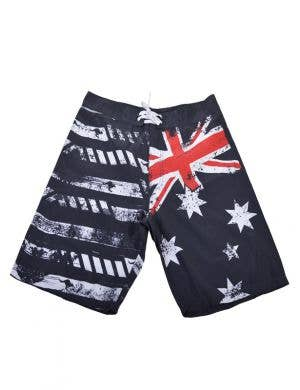 Men's Aussie Flag Australian Flag Costume Board Shorts Main