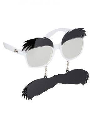 Novelty Eyebrow and Moustache Groucho Accessory Glasses