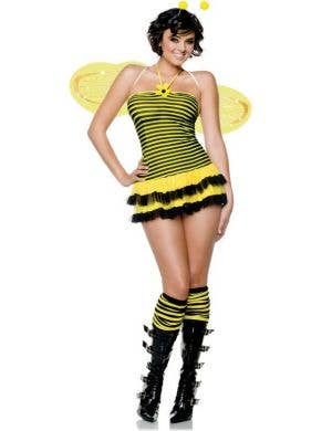 Midnight Stinger Sexy Bumble Bee Costume