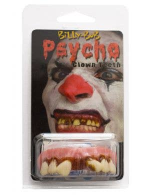 Psycho Killer Clown Custom Fitting Teeth With Fixing Putty Costume Accessory