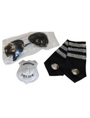 Police Officer Costume Accessory Kit