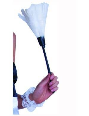 White French Maid Feather Duster Costume Accessory