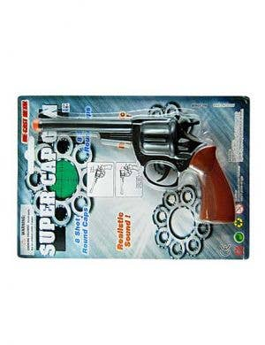 Deluxe Cowboy Costume Gun In Die Cast Metal