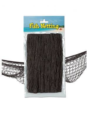 Spooky Black Fish Netting Halloween Decoration