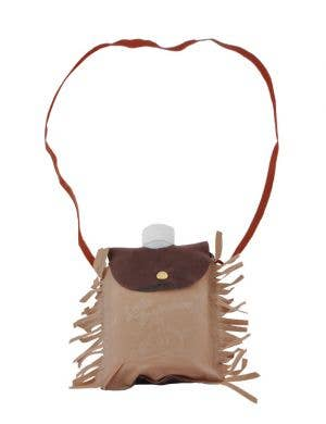 American Indian Novelty Flask With Pouch