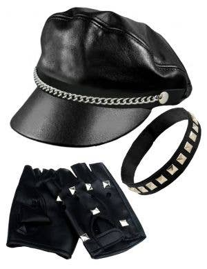 Hughes Bad Biker Men's Costume Accessory Kit