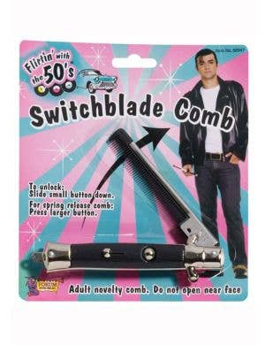 Grease Switchable Flick Comb 1950's Costume Accessory