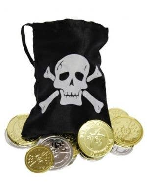 Treasure Bounty Coins and Pouch Pirate Accessory