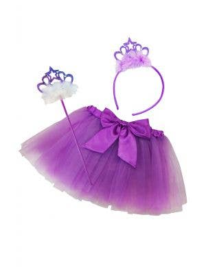 Fairy Princess Toddlers Purple Costume Set