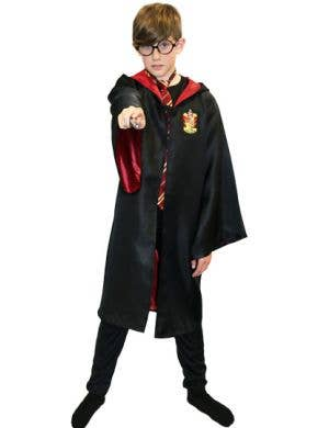 Gryffindor Boys Wizard School Costume Robes