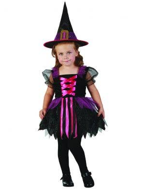 Glitzy Witch Girl's Toddler Halloween Costume