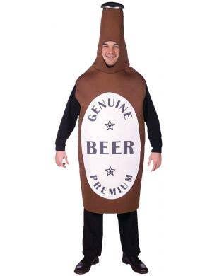 Funny Brown Beer Bottle Costume for Men