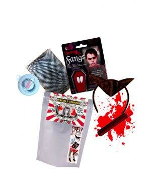 Bat Out of Hell - Ready To Go Women's Bat Halloween Kit