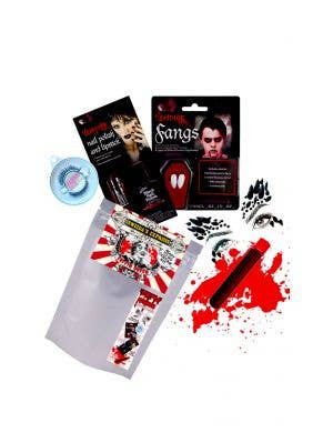 Coffin Queen - Ready To Go Women's Vamp Queen Halloween Kit