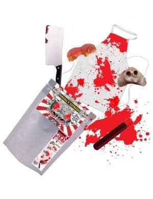 Porky's Revenge  - Ready To Go Adult's Possessed Pig Halloween Kit