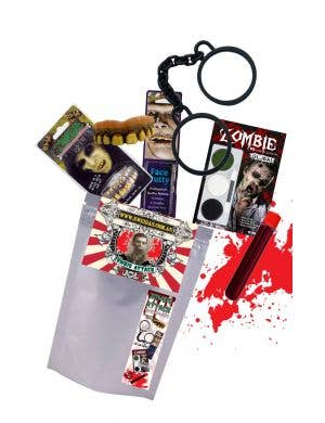 Zombie Attack - Ready To Go Adult's Zombie Halloween Kit