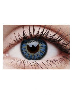 Glamour Aqua Coloured Cosmetic Contact Lenses