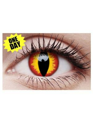 Dragon Eyes Single Wear Crazy Contact Lenses