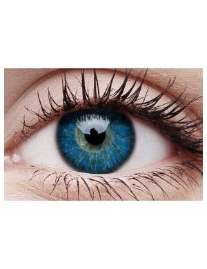 Glamour Blue 90 Day Wear Coloured Contact Lenses