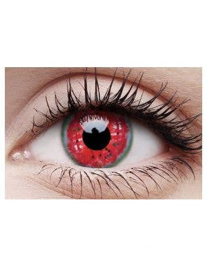 Melon Colic Crazy Wild Eyes 90 Day Wear Contact Lenses