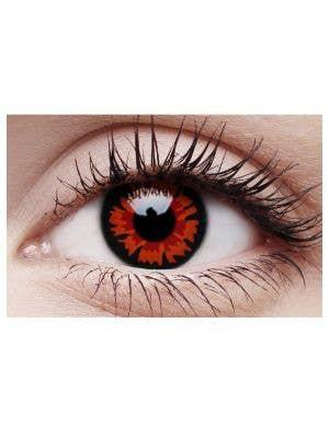 Volturi Red Vampire 90 Day Wear Halloween Contact Lenses