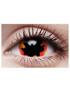Blackhole Sun Mini Sclera Yearly Contact Lenses