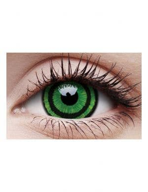 Green Goblin Mini Sclera Yearly Contact Lenses