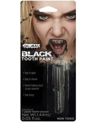 Black Out Tooth Rot Paint Costume Accessory