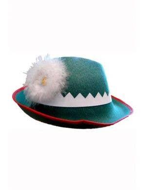 Oktoberfest Green German Costume Hat Main Image