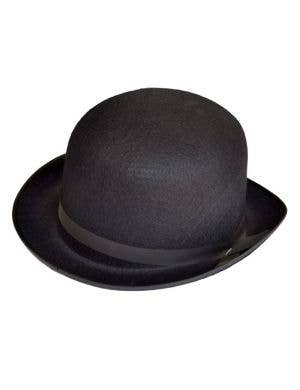 Black Bowler Hat - Feltex