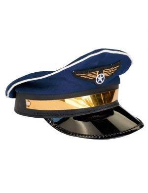 Flight Captain / Pilot Hat in Blue