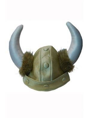 Adults Plush Viking Costume Helmet