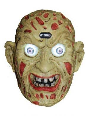 Freddy Krueger Head Animated Halloween Prop