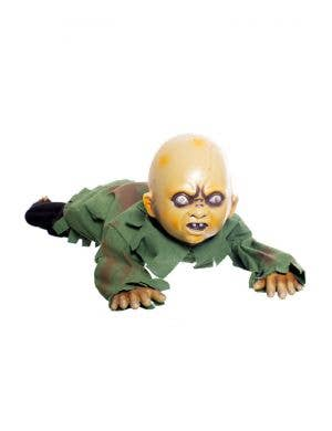 Crawling Zombie Baby Animated Halloween Decoration
