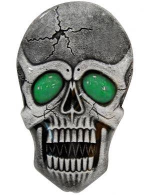Large  Skull With Light Up Eyes Halloween Decoration Prop