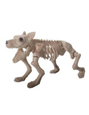 Large Plastic Skeleton Dog Halloween Decoration