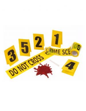 Halloween Haunted House Crime Scene Kit Decoration