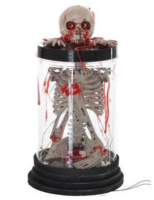 Bleeding Skeleton Light Up Lantern Halloween Decoration