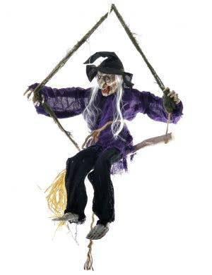 Animated Wicked Witch Deluxe Halloween Decoration