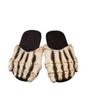Skeleton Novelty Costume Slide Shoes Halloween Accessory