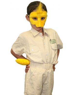 Duck Mask and Tail Costume Accessory Set